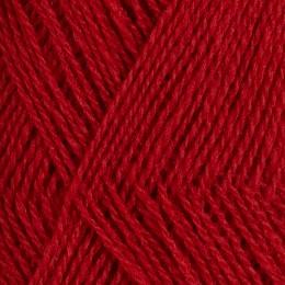 Röros lamullgarn  nr L35, mättad röd