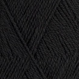 Röros lamullgarn  nr L15, svart
