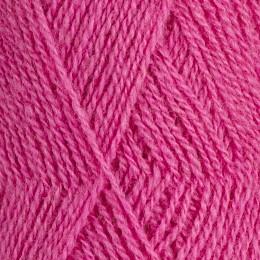 Röros lamullgarn  nr L56, starkt rosa