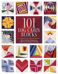 101 log cabin Blocks till Lappteknik!