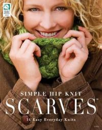 Simple Hip knit scarves 14 easy everyday knits