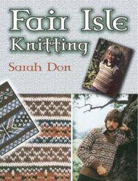 Fair isle knitting, Sarah Don