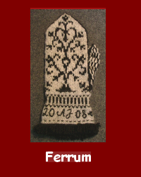 Ferrrum knitkit for Mittens