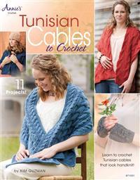 Tunisian cable crochet
