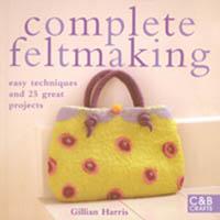 Complete feltmaking av gillian Harris, Tova!