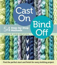 Cast on Bind off 54 step-by step methods