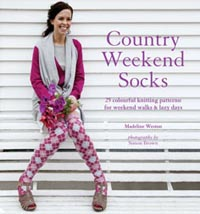 Country weekend socks