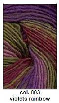 Chunky Mochi Violets Rainbow