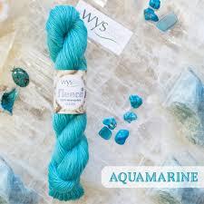 Wensleydale  DK aquamarine
