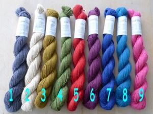 One hemp yarn col 8