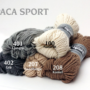 Alpacka Sport Naturbrun