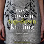 More modern top down knitting
