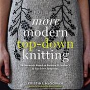 More modern top down knitting