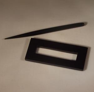 shawl pin rectangular
