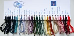 Frangipani garn till fiskartröjor färg falmouth navy (mörkmarin)