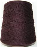 Frangipani garn till fiskartröjor färg Damson (mörkt rödlilasvart)