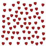 Knappar: Röda hjärtan, button fun 1863