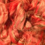 rödgrå topsband av ull vinterverkstans blandning