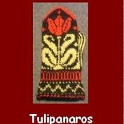 Tulipanaros Materialsats till vantar