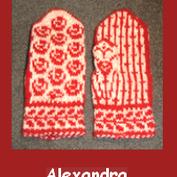 Alexandra Materialsats till stickade vantar