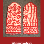 Alexandras mittens Knitkit