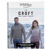 the CROFT Shetland Tweed bok med stickmönster