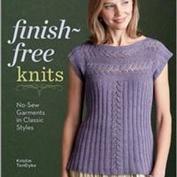 Finish free knits, sticka färdigt utan montering