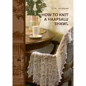 how to knit a haapsalu shawl , en liten instruktionsbok