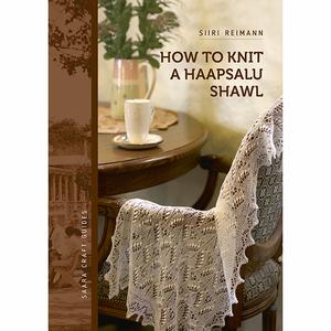 how to knit a haapsalu shawl , en liten instruktionsbok