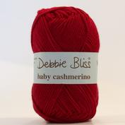 Baby cashmerino färg 34 röd