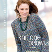 Knit one below av Elise Duvekot Nyskapande stickteknik!