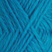 Vamsegarn färg 76 , stark turkos