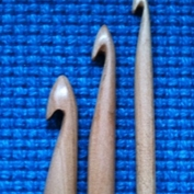 Double tunisian crochet hook  12 mm