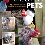 Knit and purl pets!  Sticka djur med personligheter!