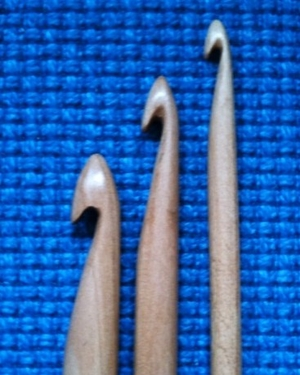 Double tunisian crochet hook  7 mm