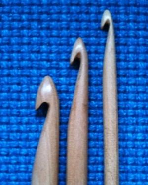 Dubbel kroknål 7 mm