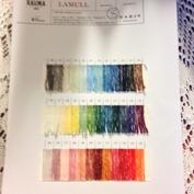 colour chart  lamullgarn